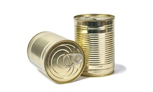 Products in Tins